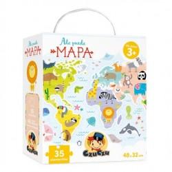 Ale puzzle MAPA 3+ CzuCzu