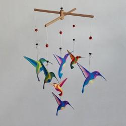 Karuzela wymienna Montessori KOLIBRY