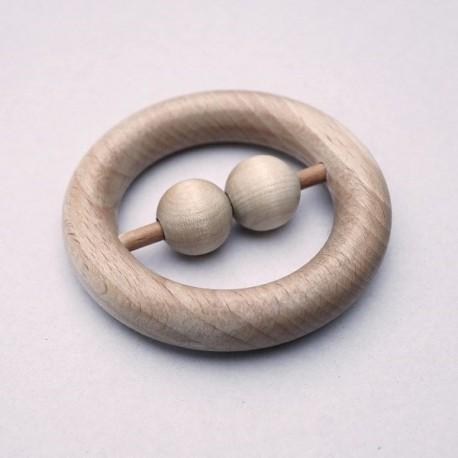Pierścień z kulkami - zabawki Montessori
