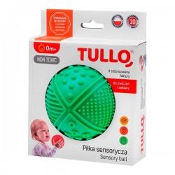 PIŁKA SENSORYCZNA z 4 fakturami Tullo