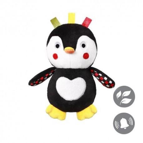 Kontrastowa przytulanka dla niemowląt TATA PINGWIN Babyono