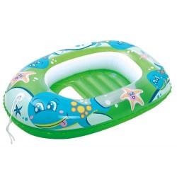 PONTON DMUCHANY do pływania zielony Bestway