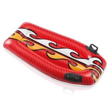 Deska do pływania czerwona z płomieniami Intex