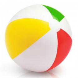 Dmuchana piłka plażowa TĘCZA 41cm Intex