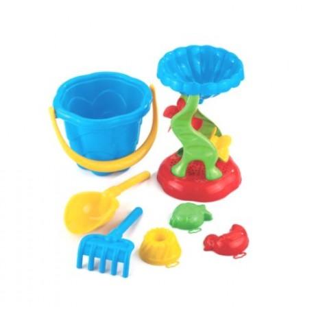 Zabawki do piasku FALA Z MŁYNKIEM Marioinex
