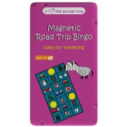 Gra magnetyczna DROGOWE BINGO The Purple Cow