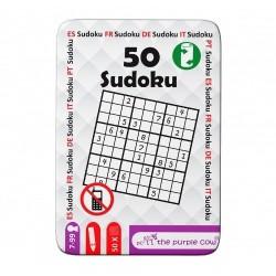 Łamigłówki dla dzieci 50 SUDOKU The Purple Cow