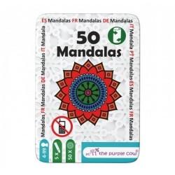 Łamigłówki dla dzieci 50 MANDALI The Purple Cow