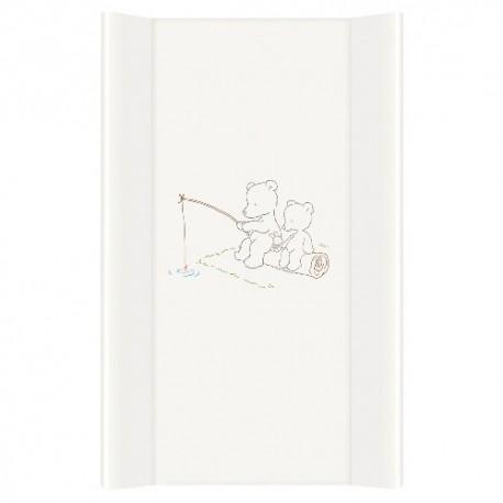 Przewijak na łóżeczko 50x80cm - Papa Bear Biały