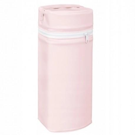 Termoopakowanie do butelek Pastel różowy