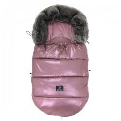 Śpiworek do wózka 0-18m Metalic Pink Makaszka