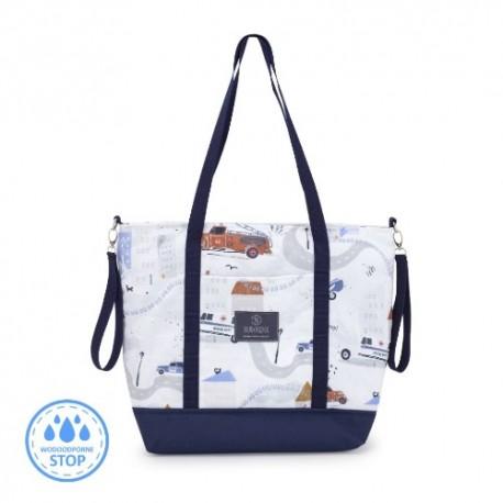 Torba do wózka NA SYGNALE Shopper Bag Makaszka