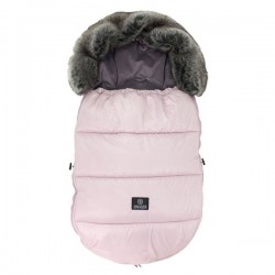 Śpiworek do wózka 12-36m Powder Pink Makaszka
