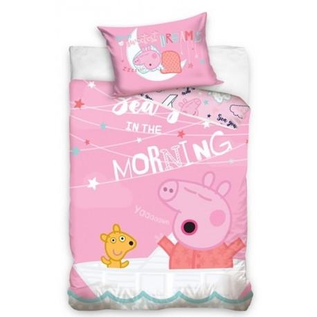 Pościel do łóżeczka Świnka Peppa Carbotex