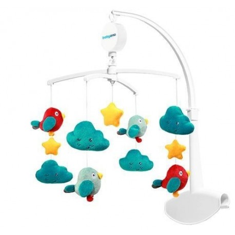 Karuzela do łóżeczka CLOUDS & BIRDS BabyOno