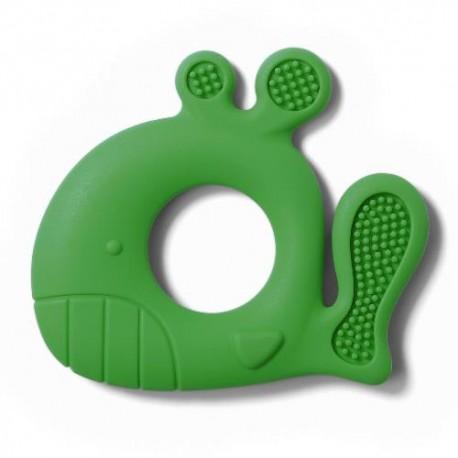 Gryzak dla dziecka WIELORYB PABLO zielony BabyOno