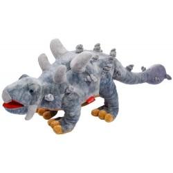 Dinozaur Ankylozaur szary 48cm Beppe