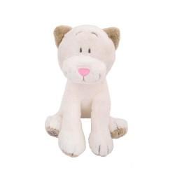 Pluszowy kot Flavio 30cm biały Beppe