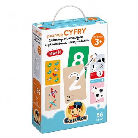Poznaję CYFRY Zabawy edukacyjne dla dzieci 3+ CzuCzu