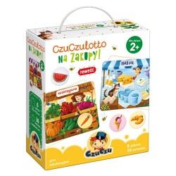 Gra dla dzieci Czuczulotto NA ZAKUPY! 2+ CzuCzu