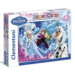 Puzzle dla dzieci Frozen Supercolor 60-el Clementoni