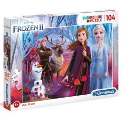 Puzzle dla dzieci Frozen 2 104-el Clementoni