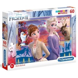 Puzzle dla dzieci Frozen 2 60-el Clementoni
