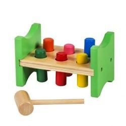 Zabawka drewniana do wbijania Wbijak