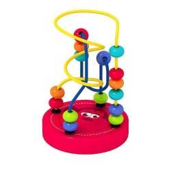 Zabawka drewniana Labirynt z Małpką Smily Play