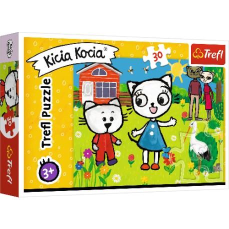 Puzzle KICIA KOCIA Przygody Kici Koci Trefl