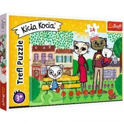 Puzzle KICIA KOCIA Zabawy Kici Koci Trefl