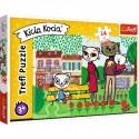Puzzle Maxi Zabawy Kici Koci Trefl