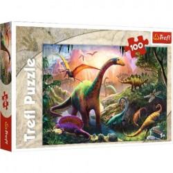 Puzzle DINOZAURY Świat dinozaurów Trefl