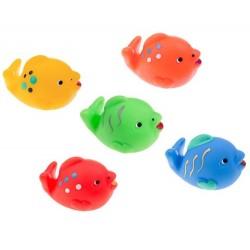 Pływające rybki do kąpieli bez dziurek Tullo