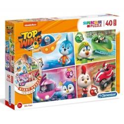 Puzzle dla dzieci Top Wing 40-el. Clementoni