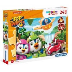 Puzzle dla dzieci Top Wing 24-el. Clementoni