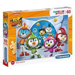 Puzzle dla dzieci Top Wing 60-el. Clementoni