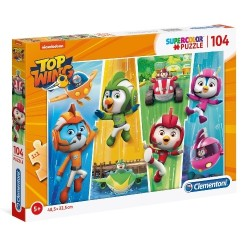 Puzzle dla dzieci Top Wing 104-el. Clementoni