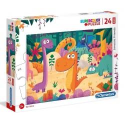 Puzzle dla dzieci Dinozaury Clementoni