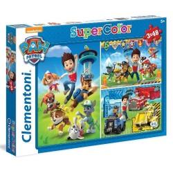 Puzzle dla dzieci Psi Patrol 3x48 Clementoni
