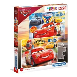 Puzzle Zygzak McQueen 2x20 3+ Clementoni