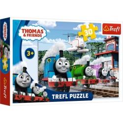 Puzzle TOMEK I PRZYJACIELE Wyścig Trefl