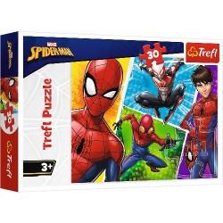 Puzzle SPIDER MAN i Miguel Trefl