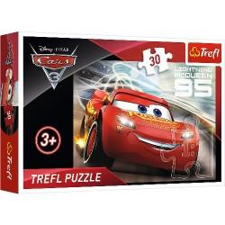 Puzzle Zygzak McQueen Cars 3 Trefl