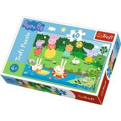 Puzzle Świnka Peppa Wakacyjna zabawa Trefl