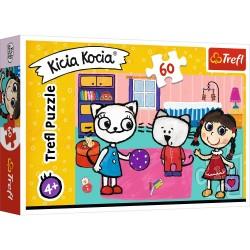 Puzzle Kicia Kocia z przyjaciółmi Trefl