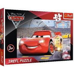 Puzzle Maxi Zygzak McQueen Mistrz Trefl