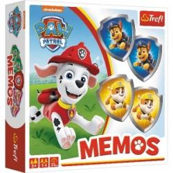 Memos Psi Patrol Memory dla dzieci Trefl