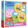 Memos Świnka Peppa Memory dla dzieci Trefl