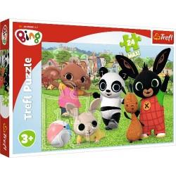 Puzzle Maxi BING Zabawa w parku Trefl